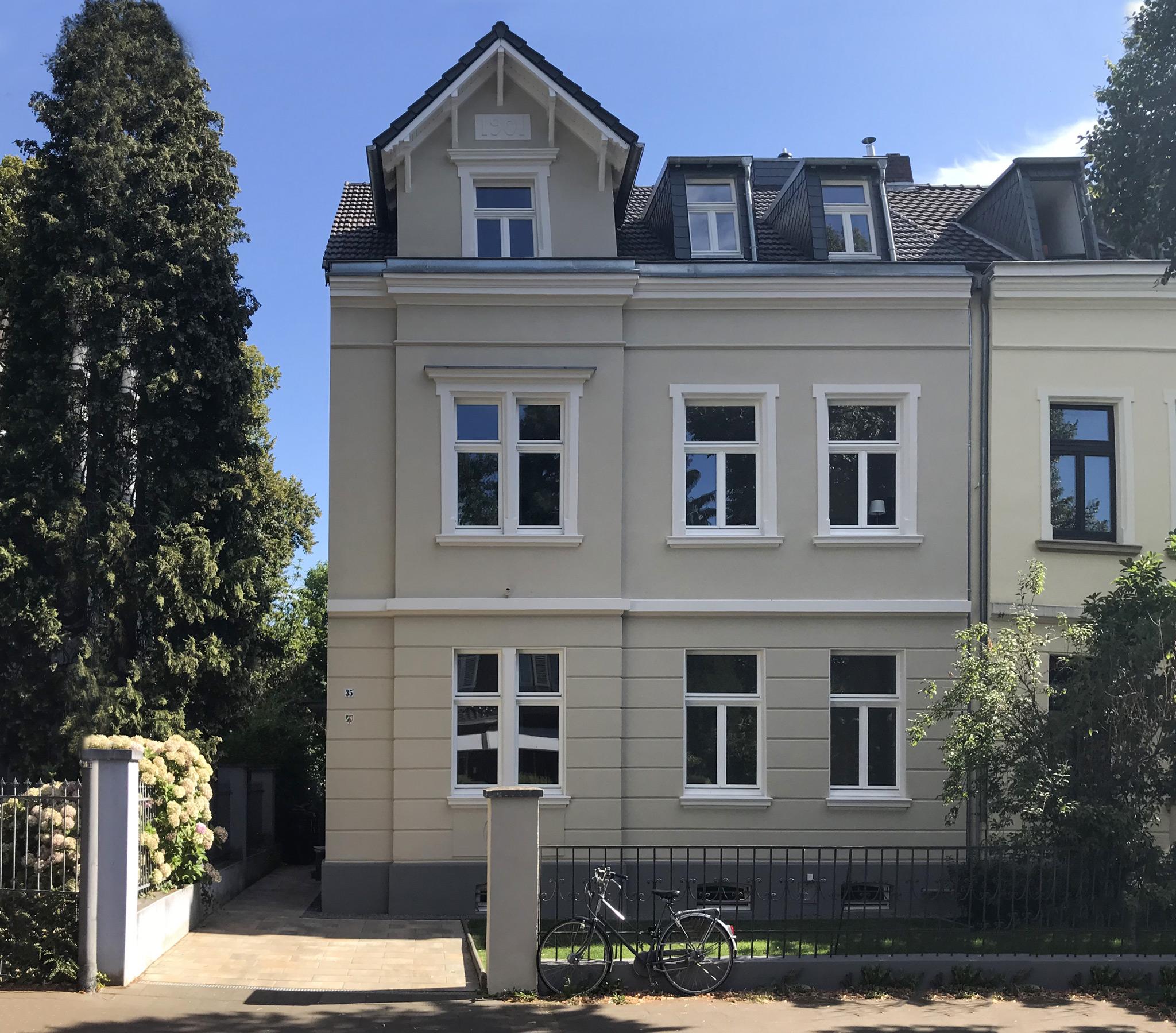 Sanierung eines Mehrfamilienhauses / Denkmalschutz