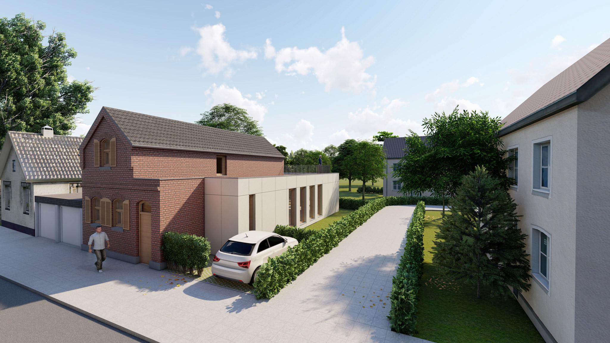 Erweiterung und Sanierung eines Einfamilienhauses