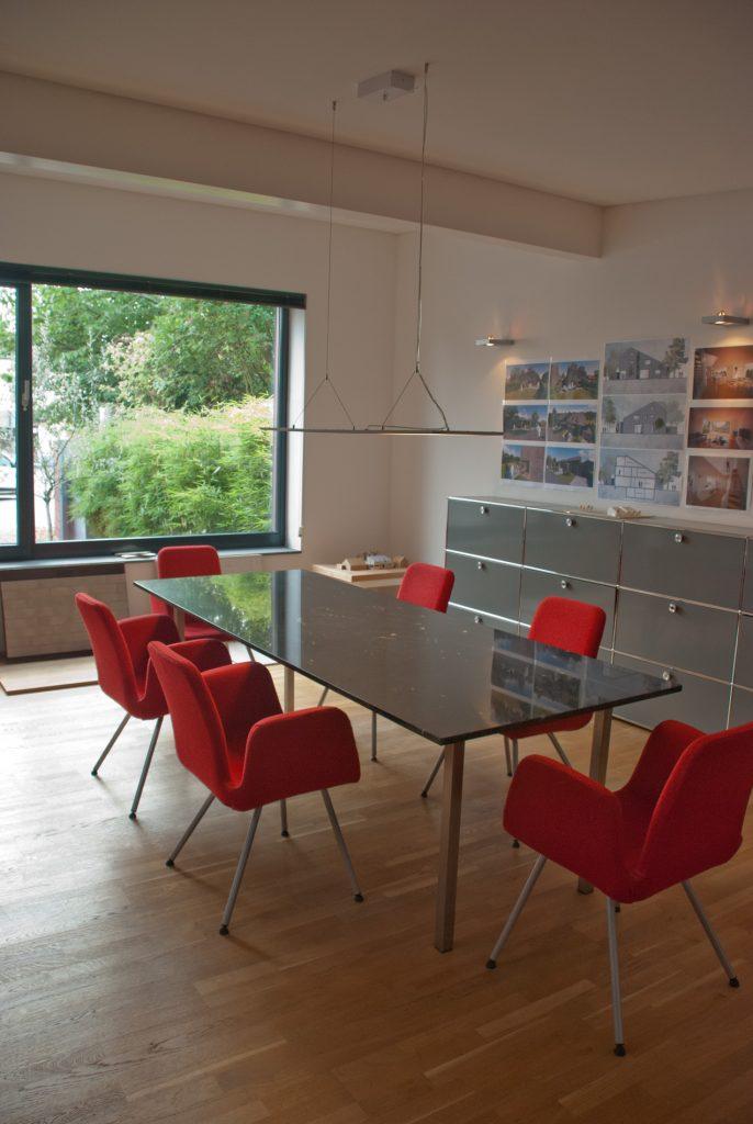 Achenbach Architektur Koeln Besprechungsraum Buero Köln Büro